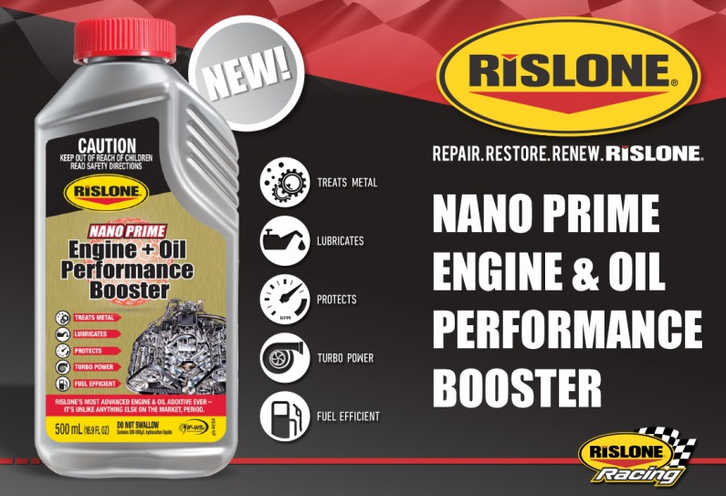 44104 RISLONE NANO PRIME ENGINE OIL PERFORMANCE BOOSTER NEW 2x